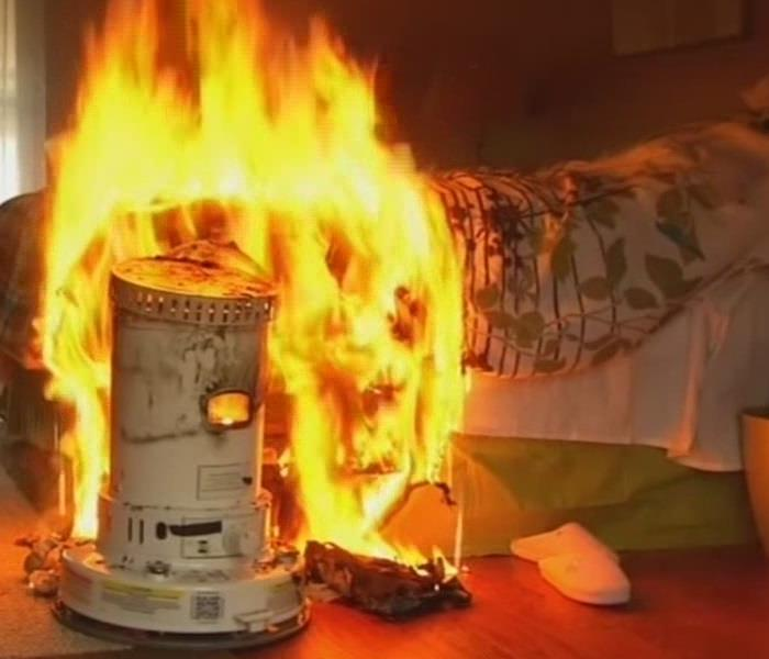 Fire Damage Winter Fire safety tips